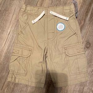 NWT Boys Khaki Cargo Shorts